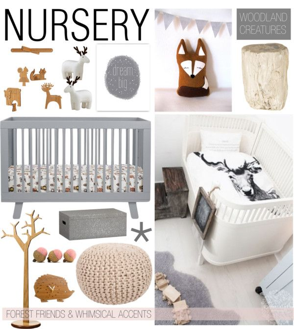 """Nursery: Woodland Creatures"" by emmy on Polyvore"