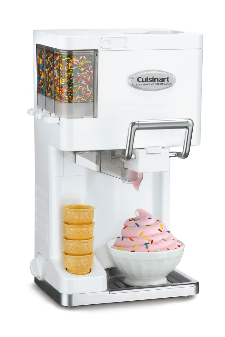 Cuisinart Mix It In 1.5-Quart Soft Serve Ice Cream Maker