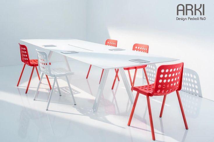 Table de travail ARKI-TABLE, 300 x 120 cm, Design by PEDRALI R&D
