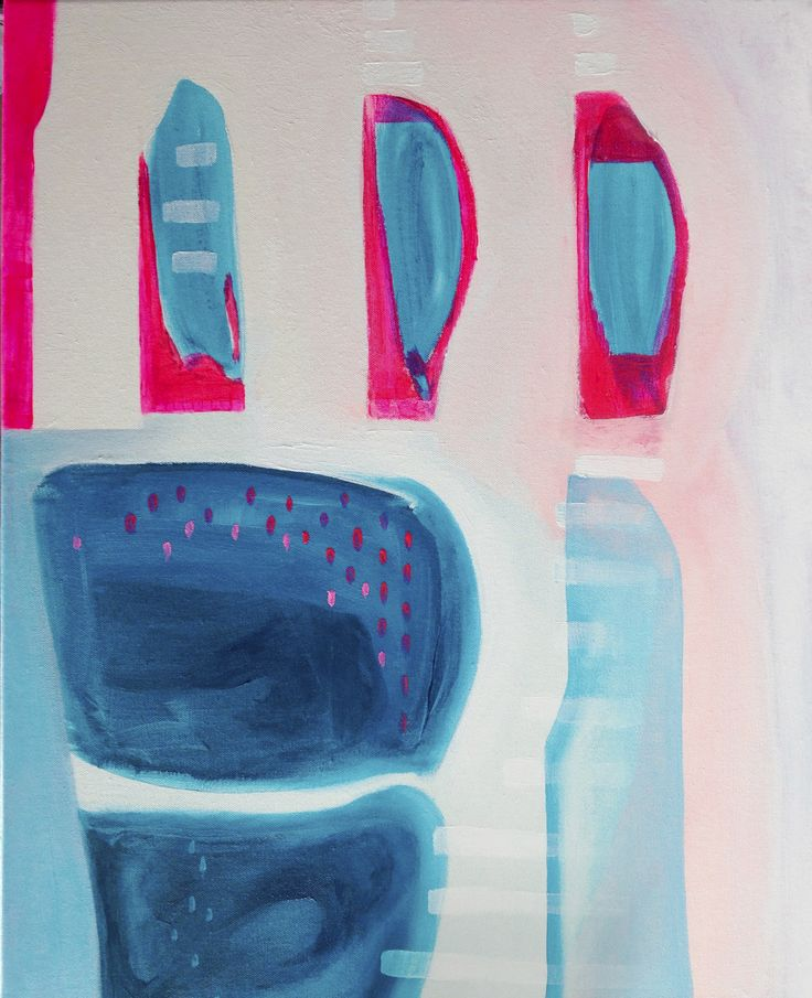 'Bevrijding', acryl op linnen, 40 x 60 cm, 550,00 euro