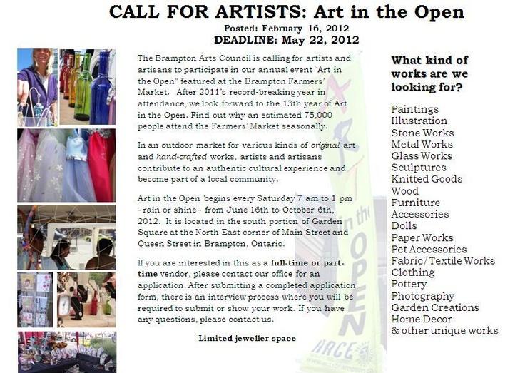 brampton art fair