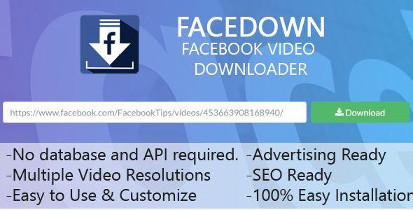 FaceDown Facebook Hd Video Downloader by MobileEngineer
