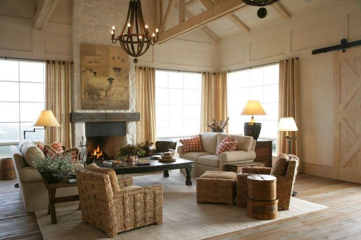 """Chiara Stewart, Senior Travel Account Manager """"The living area in the owner's cottage at The Farm because it would be perfect for a party!!!"""""""