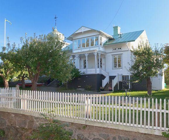 Klassiskt sekelskifteshus, fin veranda