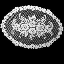 "Victorian Rose Lace Placemats 13"" x 20"""