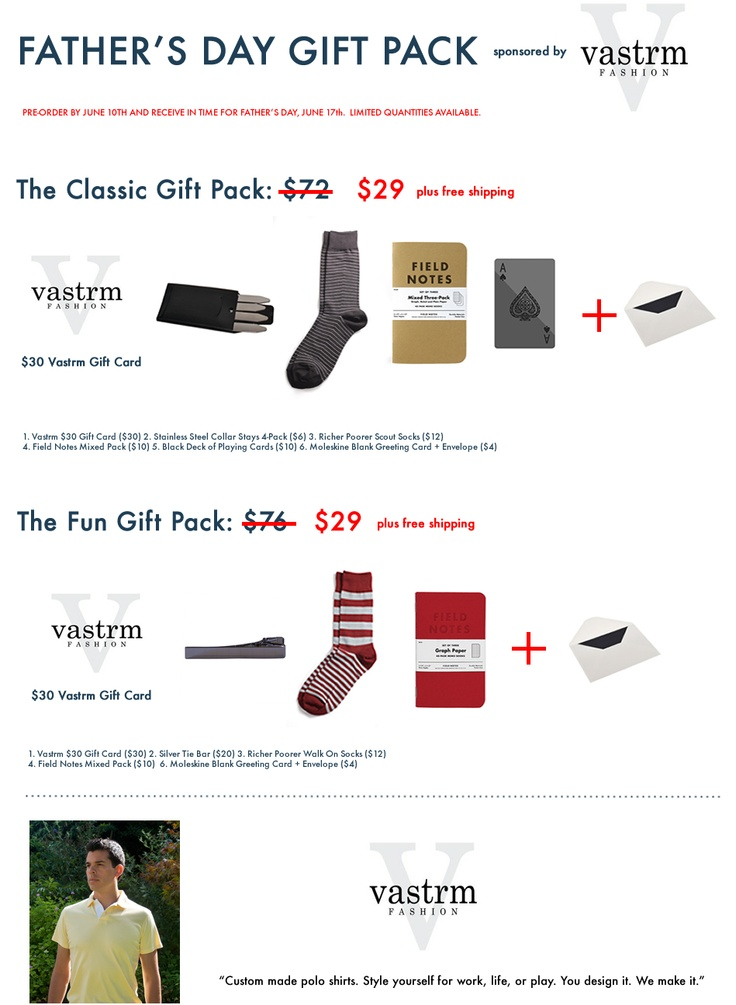 New Father's Day Gift Packs. $72 value for $29 including shipping!: Father'S Day Gifts, Gifts Packs, Father Day Gifts, New Father, Fathers Day Gifts