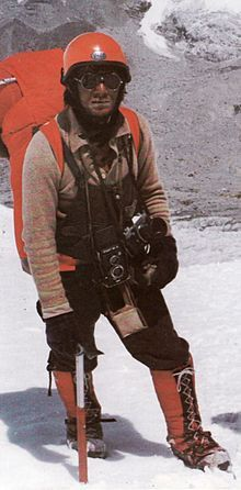 Jerzy Kukuczka (24 March 1948 – 24 October 1989), born in Katowice, Poland, was a Polish alpine and high-altitude climber. On 18 September 1987, he became the second man, after Reinhold Messner, to climb all fourteen eight-thousanders in the world. He is the first man who made the first winter ascents to the 3 eight-thousanders: Dhaulagiri with Andrzej Czok in 1985, Kangchenjunga with Krzysztof Wielicki in 1986 and Annapurna I with Artur Hajzer in 1987.