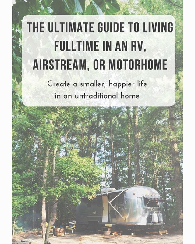 It's here! Today's the day! I've been living in an Airstream for over three years and I've finally compiled my knowledge into a digestible, valuable and practical guide. Whether you want to live in an RV to save money, to travel, or to simply live a more minimalistic life, this guide can help. The Ultimate Guide to Living Full Time in an RV, Airstream or Motorhome is a 70 page, interactive guide that will help you pare down your junk, buy an RV, renovate it, decorate it and more! In this…
