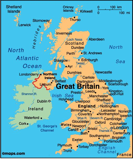 Best 25 Map Of Great Britain Ideas On Pinterest: Map Uk Great Britain At Infoasik.co