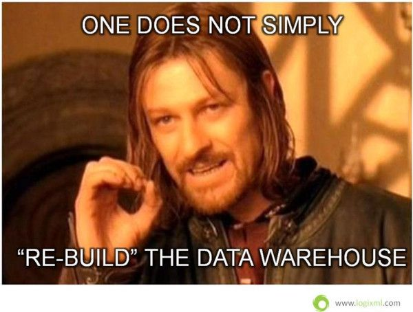how to build a data warehouse