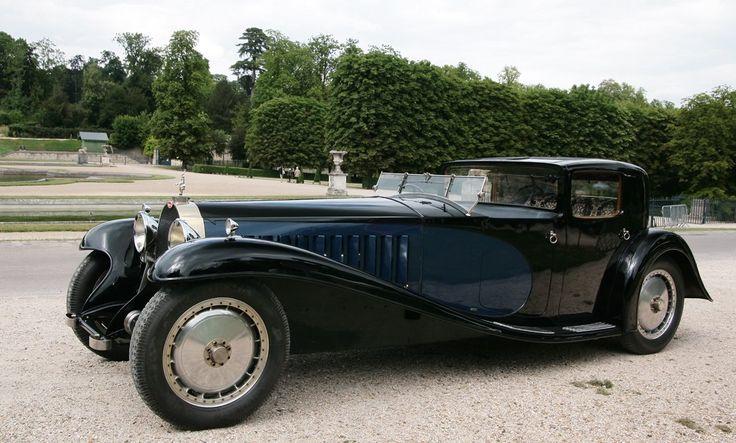Bugatti Type 41 Royale Coupe Napoleon body by Jean Bugatti, 1930