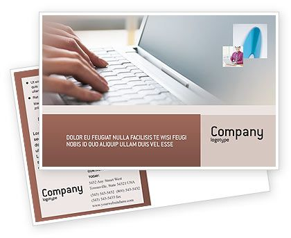 This is a Postcard Template #02180 for mobile, portable computers, main laptop manufacturers, mobile electronics, mobility, computers, internet, software, etc. http://www.poweredtemplate.com/brochure-templates/technology-computers/postcards/02180/0/index.html