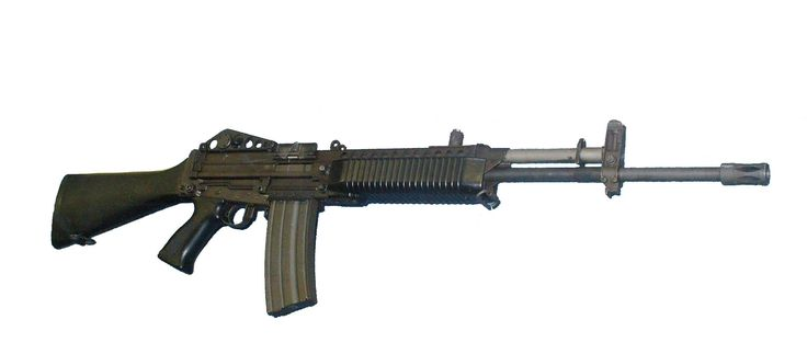stoner 63 assault rifle
