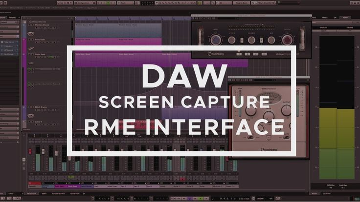 How To Record Daw Cubase Fl Studio Ableton Reaper Sounds With Rme S Cubase Ableton Rme