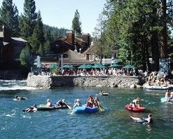 Floating the Truckee River to River Ranch