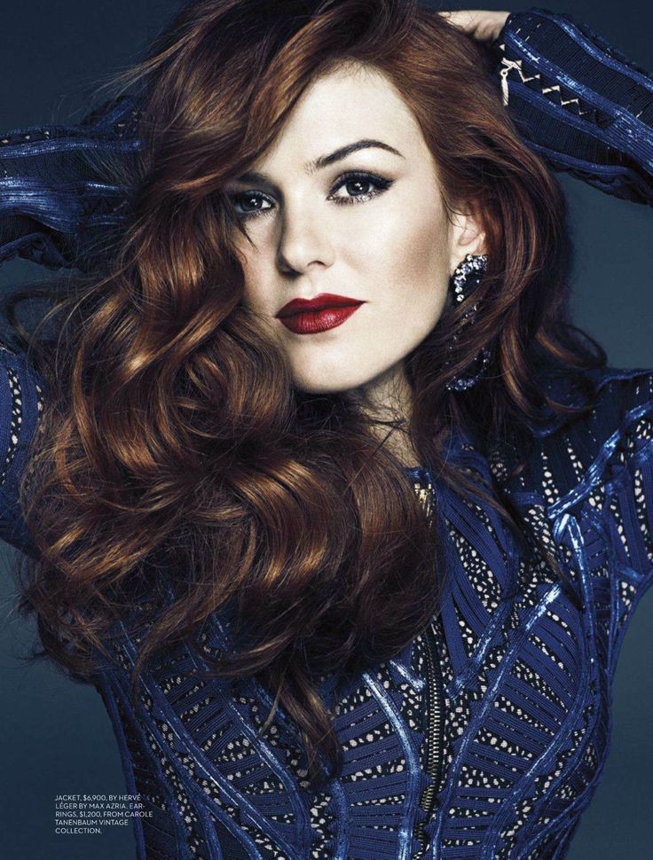 Oh No They Didnt! - Underrated Isla Fisher Covers Fashion Magazine