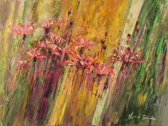 Abstraction - flowers