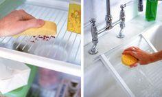 Para que sua geladeira fique sempre limpinha siga as recomendações abaixo: O ideal é manter a geladeira limpa para evitar proliferação de bactérias, mofo e mau cheiro 1x por semana ou sempre que derramar algo dentro da geladeira: - LIMPE COM PANO MOLHADO E DETERGENTE 15 EM 15 DIAS: Desligue a geladeira - removendo da…