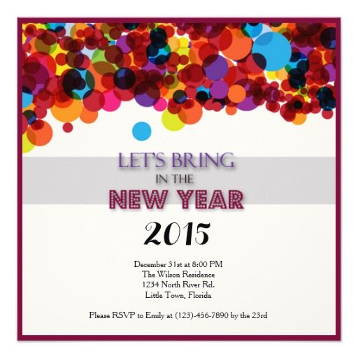 Best New Years Eve Invitations Images On   Eve New
