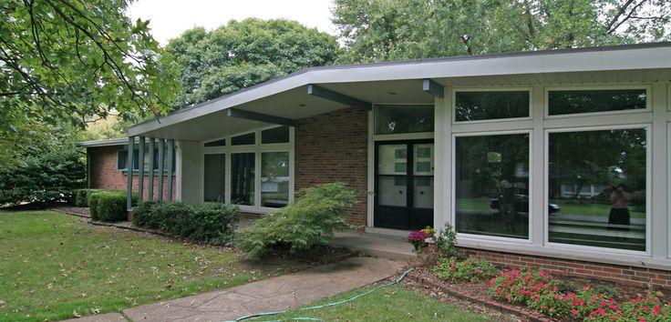 Atomic Ranch House Plans Vintage Mid Century Modern 200