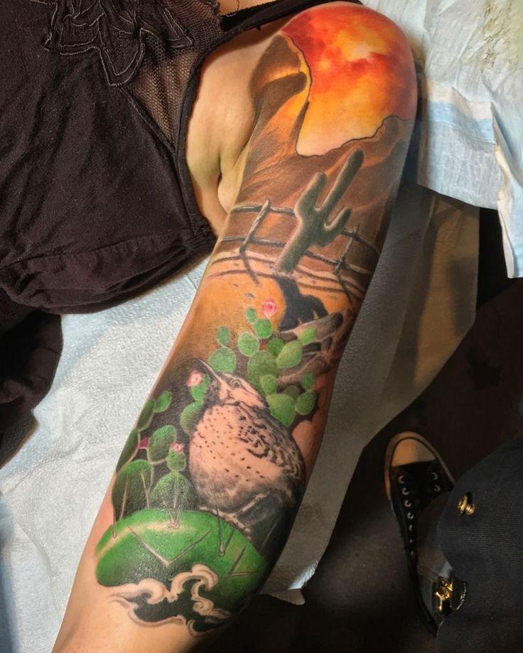 29 best tattoos images on pinterest tatoos arm tattoos for Arizona desert tattoo
