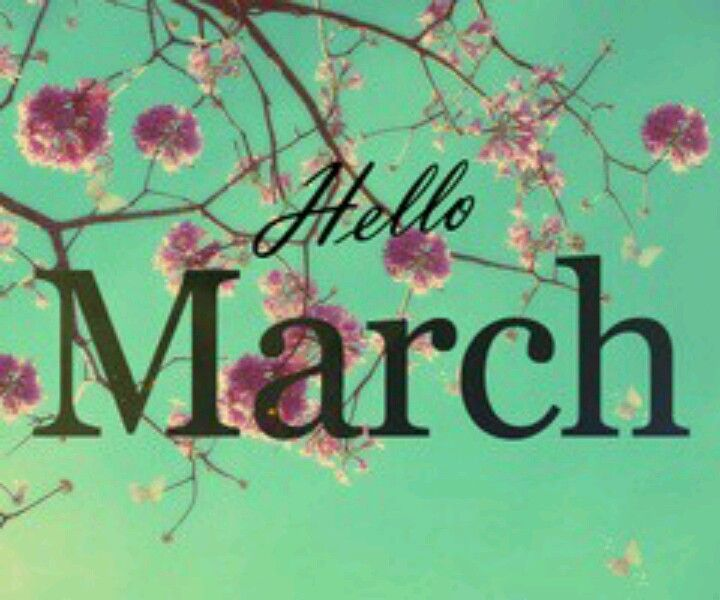 March 1, 2014 Hello March! We've been waiting patiently for you. I hope you bring warmer temps with you our way.