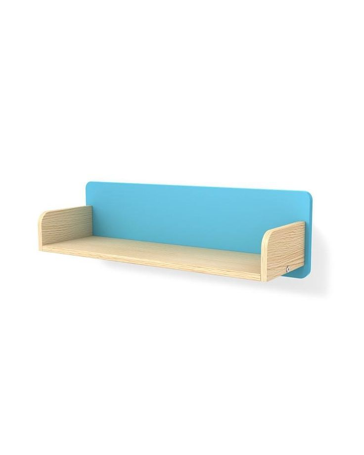 """Shelves are one of the basic items in the room of every child. They fit perfectly with the design of the """"Simple"""" collection and can be used alone or in combination with different furniture from the collection in order to give a uniqueness to the room."""
