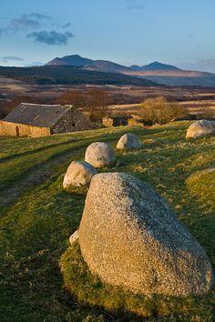 Machrie Moor standing stones, Isle of Arran, Scotland