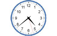 Träna på klockan - analog
