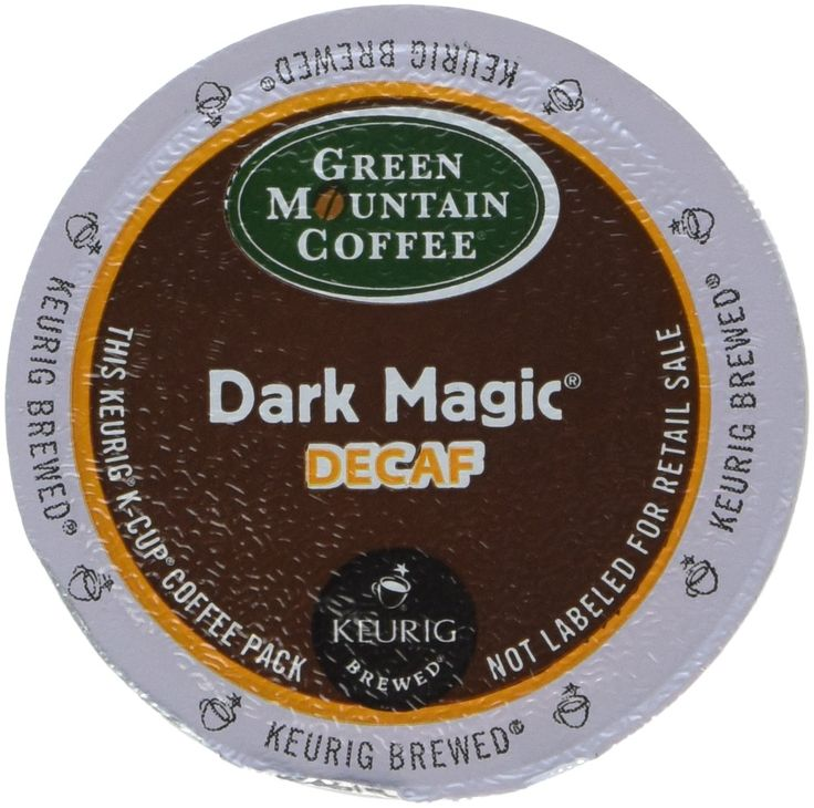 Green Mountain Coffee, Dark Magic Decaf, K-Cup for Keurig Brewers