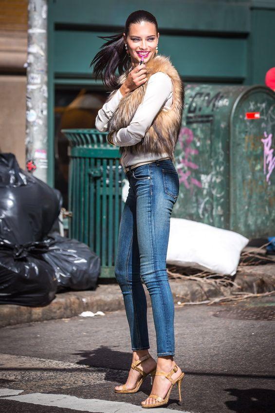 Adriana Lima – the encounter of Maybelline | 2015 Wedding