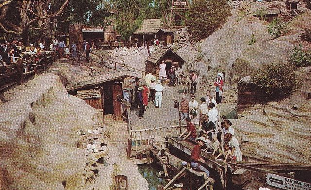 """""""Old """"Knotts Berry Farm....before roller coasters. Panning for gold."""