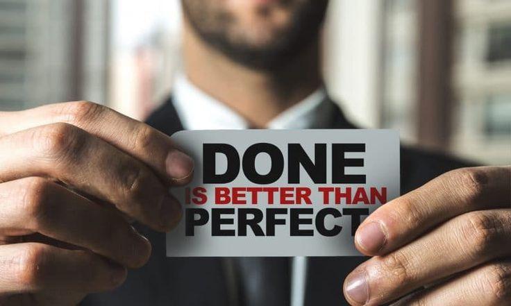 In kleineren Dosen erweist sich Perfektionismus als förderlich, schließlich motiviert er dazu, das Beste zu geben. Wenn Du allerdings zu den extremen Perfektionisten zählst, kann sich das nicht nur für Dich, sondern auch für Deine Karriere und Dein Arbeitsumfeld zum Problem entwickeln.   #Pareto-Prinzip #Perfektion #Perfektionismus #Perfektionismus-Falle #Versagensangst #perfect #nobodyisperfect