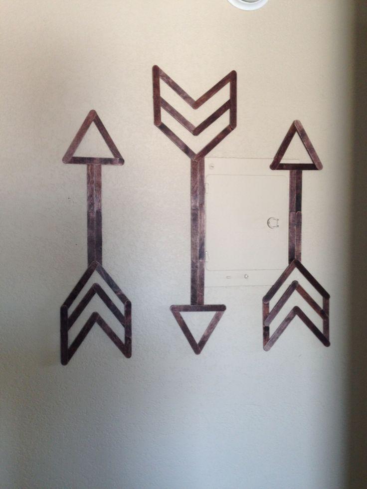 Stick On Wall Art 25+ best popsicle stick art ideas on pinterest | stick crafts