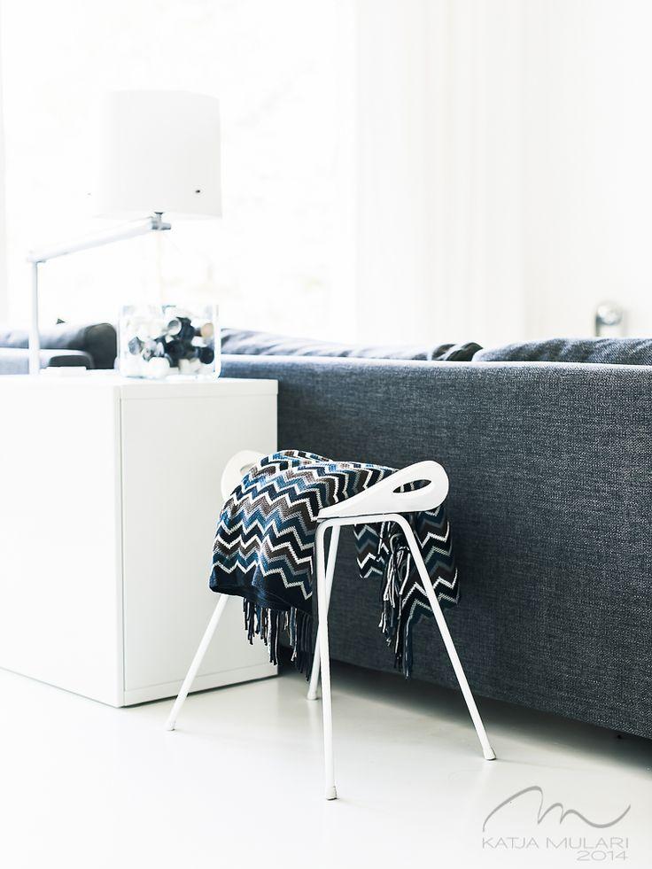Vintage Chair. White Interior. Katin Kokeelliset Remontit: kesäkuu 2014