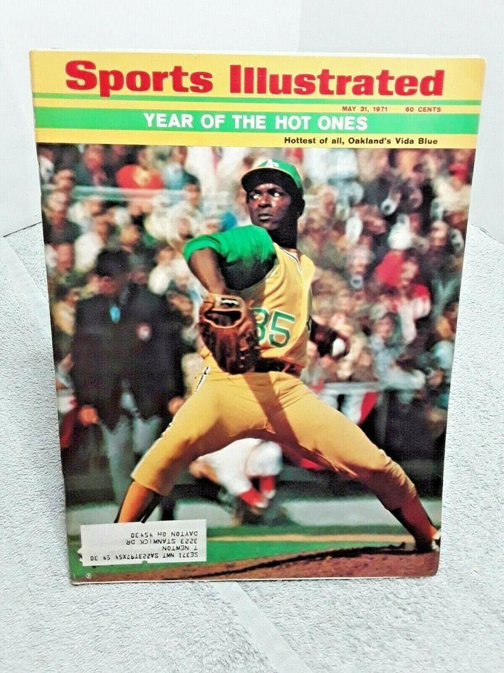 Sports Illustrated May 31 1971 Vida Blue Oakland A's
