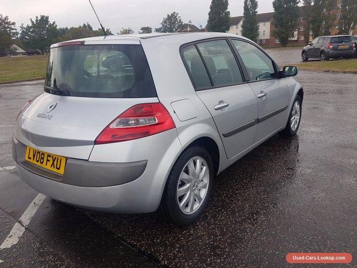 Renault Megane 1.6 VVT Dynamique 5dr 2008 #renault #megane #forsale #unitedkingdom