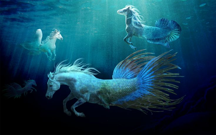 Fantasy water creatures - photo#5