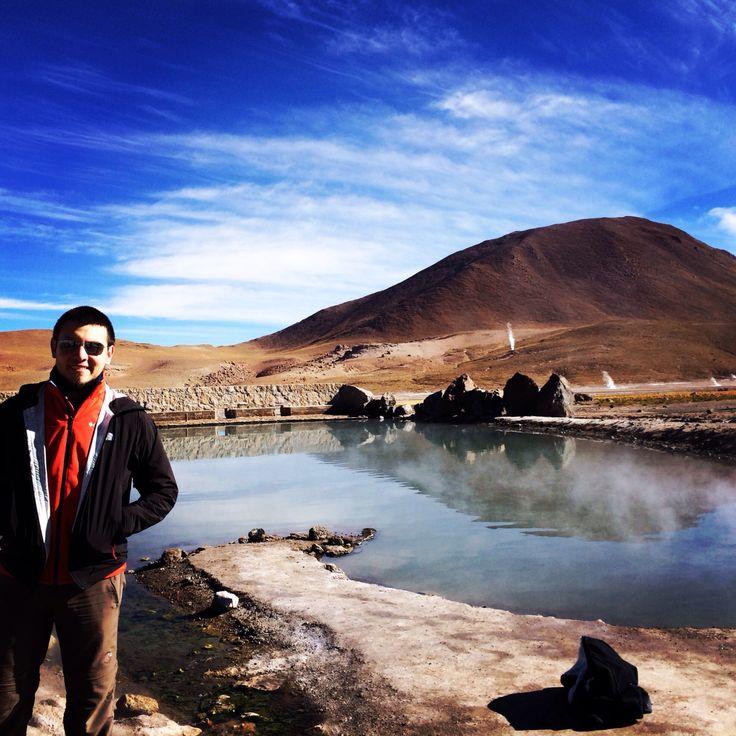 Geiser del Tatio. San Pedro de Atacama, Chile.