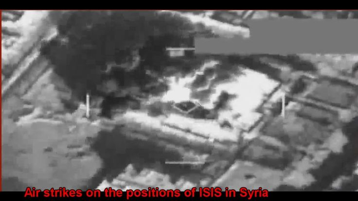 War in IRAQ & Syria 2014 / Air strikes on the ISIS positions