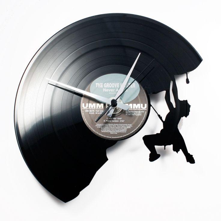 Disc'O'Clock Ceas de perete The Climber