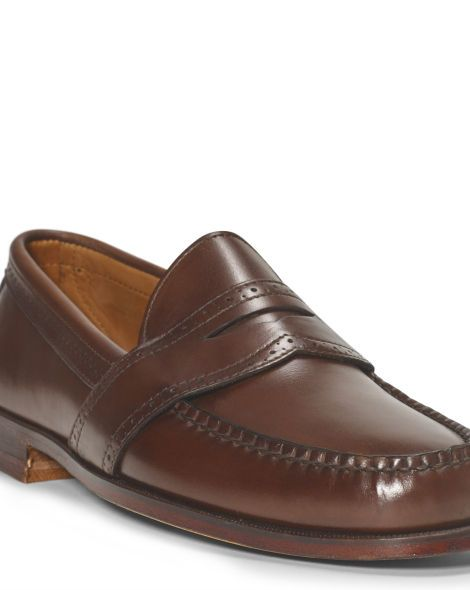 Ellesmere Leather Penny Loafer - Polo Ralph Lauren Dress - RalphLauren.com
