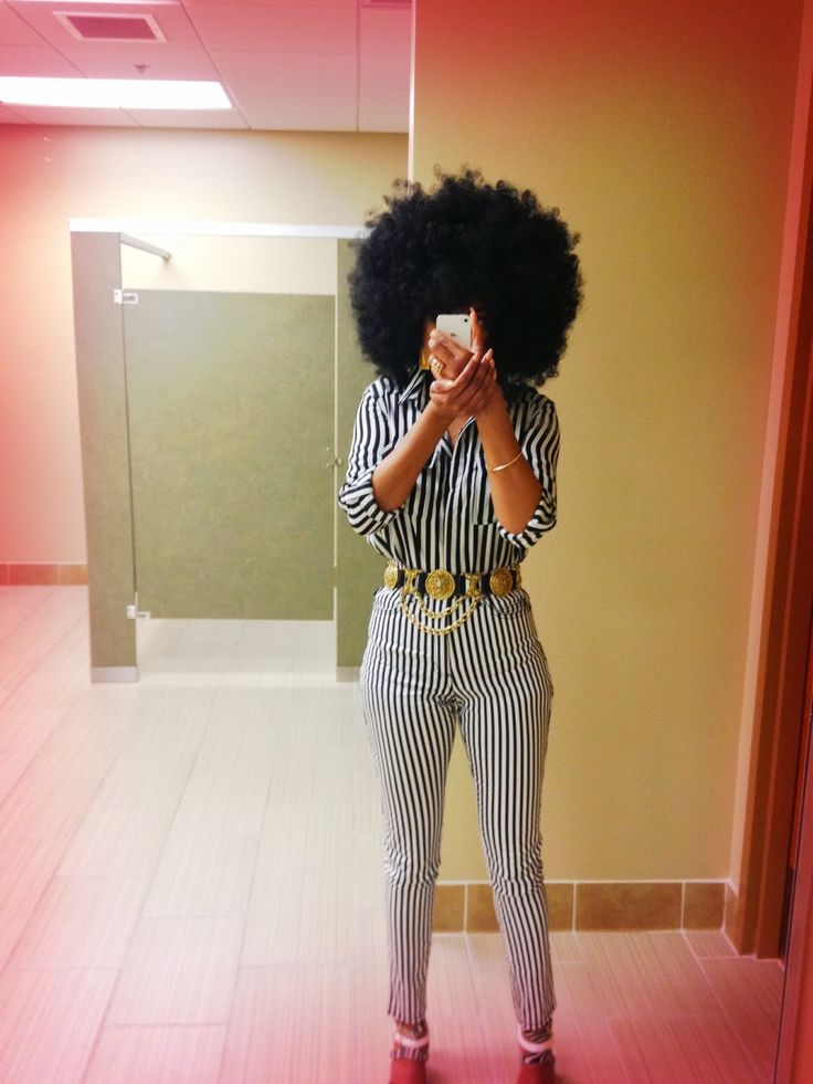 {Grow Lust Worthy Hair FASTER Naturally} www.HairTriggerr.com       Big Fro And Stripes!!!!