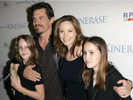 Josh Brolin, Diane Lane and Family