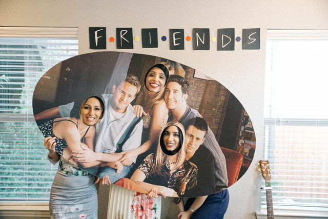 Friends TV Show Themed Bridal Shower
