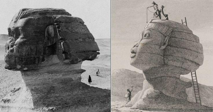 В египетскую кампанию Наполеона Великие пирамиды еще строились | Интересные новости