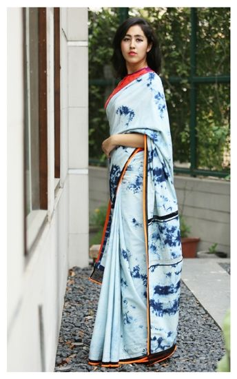 denim sari - Google Search