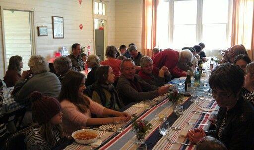 Fryerstown School community lunch