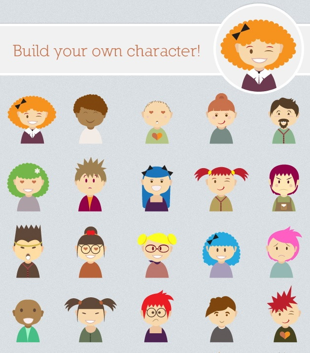 Character Design Kit : Kit de creación avatares character design