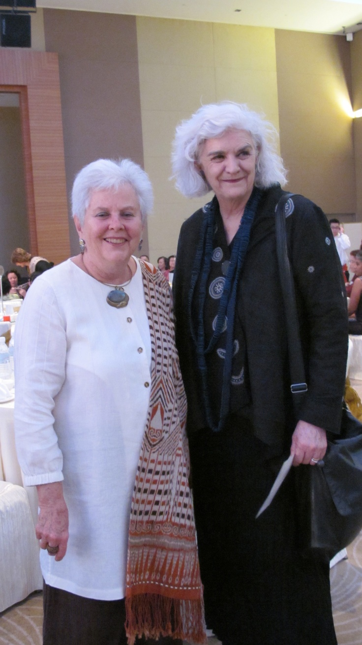 Liz Williamson Australia and Anne southerland Canada